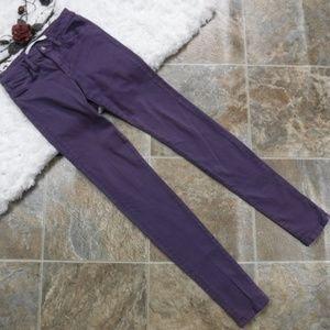 Joes Jeans The Skinny Size 25  Purple Denim